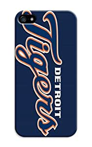 LarryToliver Customizable Baseball Detroit Tigers Case With Hard Shell Cover for iphone 5/5s