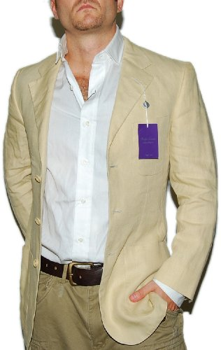 Mens Linen Jacket - JacketIn