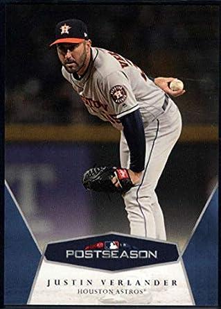 cec6c47bc2f 2018 Topps On Demand MLB Postseason Baseball  8 Justin Verlander Houston  Astros Online Exclusive Trading