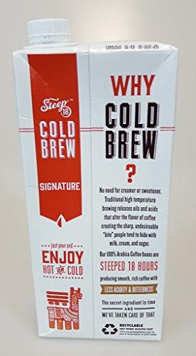 Steep 18 Cold Brew Organic Coffee (Signature)