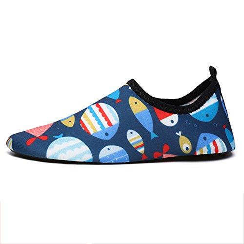 Zapatos De Natación Suela Exterior De Goma Antideslizante Y Tela Elástica Alta Amantes Vadeando Descalzo Zapatos De Snorkeling Zapatos De Playa Zapatos De Buceo Calzado De Caminadora Calcetines De Pla 8