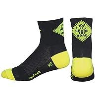 DEFEET Aireator Comparta los calcetines de carretera, negros, pequeños