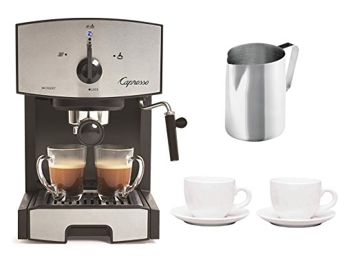 how to use capresso espresso machine