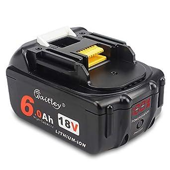 2Pack For Makita BL1830B BL1840 BL1850 Lithium Battery 18V 6.0Ah Cordless tools