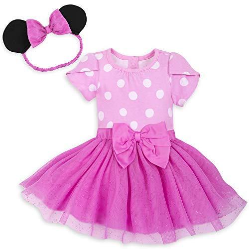 Disney Minnie Mouse Costume Bodysuit for Baby - Pink - Size 18-24 MO Multi …