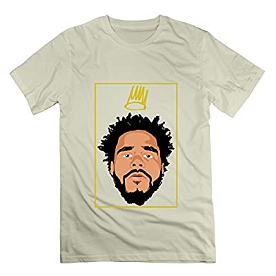 JUNNY Men's Born Sinner J.Cole Crew Neck Tshirts