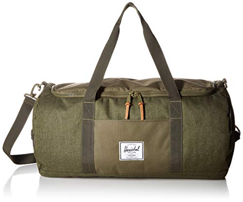 Herschel Sutton Duffel Bag Crosshatch/Olive Night, One Size