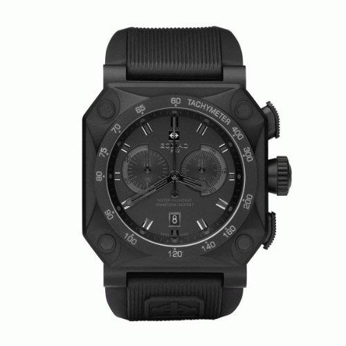 Zodiac ZO8520 - Reloj para hombres, correa de goma color negro: Amazon.es: Relojes
