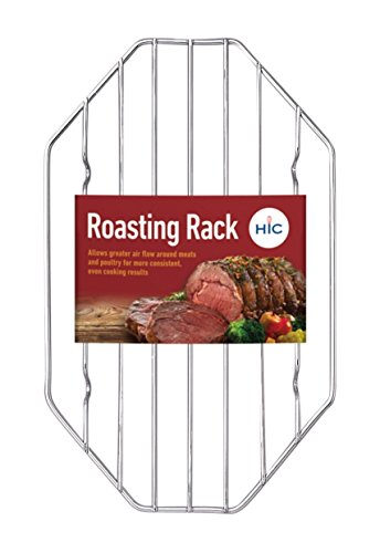 HIC Harold Import Co. 43191 Octagonal Wire Roasting Rack