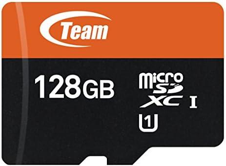 8f08b80b99 Team Group Micro SD scheda di memoria con Adattatore SD 128 GB Class 10  UHS-I Grade 1