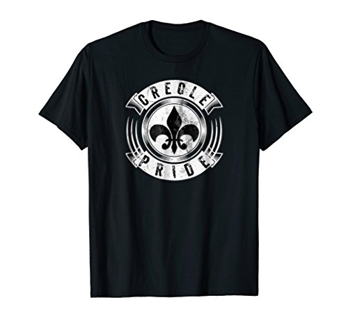 - Creole Pride Fleur De Lis Louisiana Cajun Coonass Gift Shirt