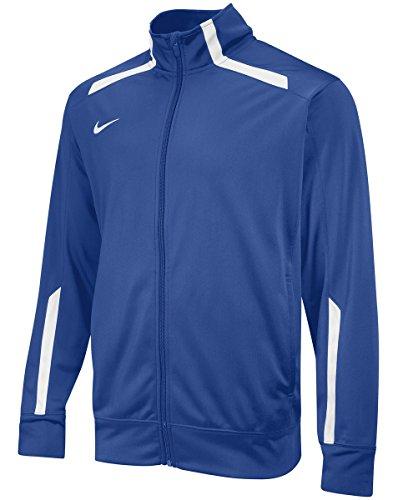Nike Men's Overtime Warm Up Jacket L Royal/White