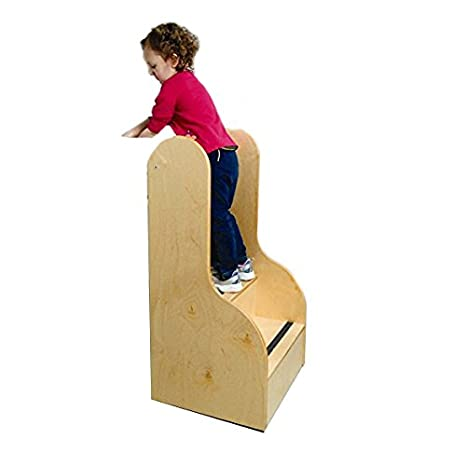 Amazoncom Whitney Brothers Birch Laminate Step Up Tall Stairs Baby