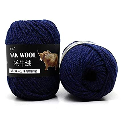 Amazoncom Crochet Yarn Types 500g Yak Wool Cashmere Scarves Hat
