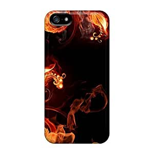 Faddish Phone Fire Plants Case For HTC One M8 Cover / Perfect