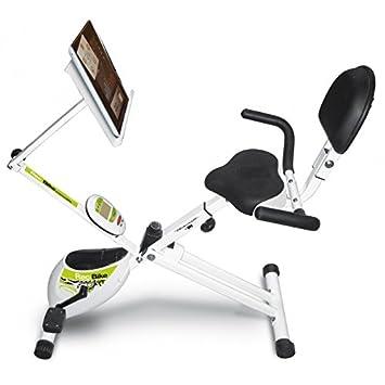 Tecnovita - Pack Bicicleta estática Recumbent YF93 Rec-Bike + funda para tablet by BH: Amazon.es: Deportes y aire libre