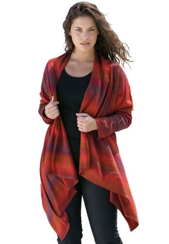 Handkerchief cardigan tunic sweater