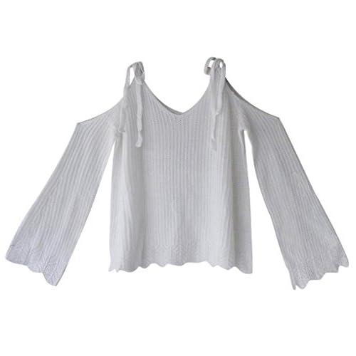 51c68334905 Jersey Jerseys de Punto Mujer Suéter Sueter Cuello V de Dama Sueteres  Prendas de Punto Sweater