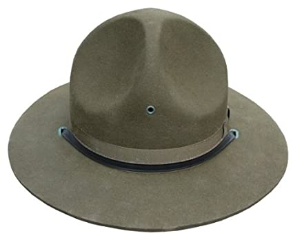 Amazon.com   Boy Scout Scoutmaster BSA Style campaign Hat -New- Size 7    Other Products   Everything Else 5158b7ed213