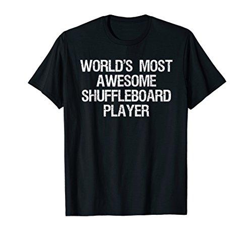 Shuffleboard T-shirt - Funny Awesome Shuffleboard Player