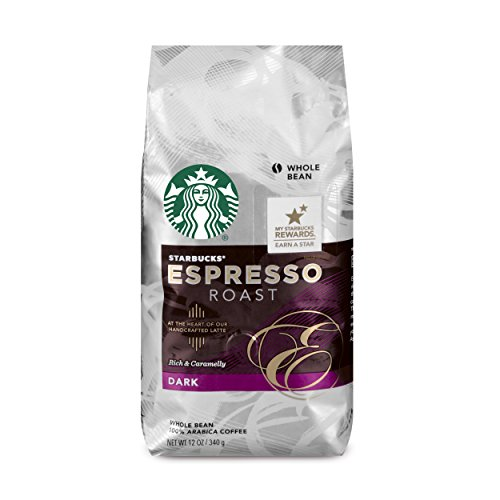 Starbucks Espresso Roast Foul Roast Whole Bean Coffee, 12-Ounce Bag (Pack of 6)