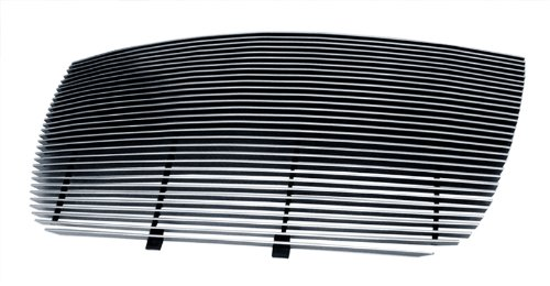 (MaxMate Fits 05-10 Chrysler 300/300C Replacement Upper 1PC Horizontal Billet Polished Aluminum Grille Grill)