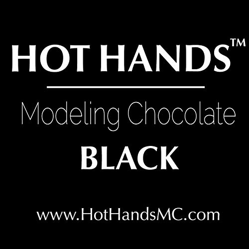 Premium BLACK Modeling Chocolate by Hot Hands Modeling Chocolate 2X 10oz PACKS -