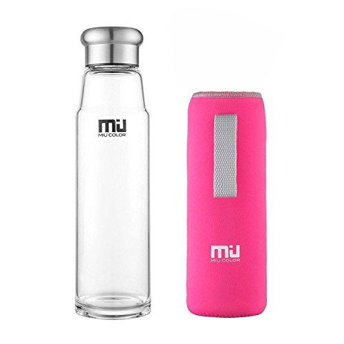 miu-color-245-oz-glass-water-bottle-eco-friendly-borosilicate-glass-bpa-pvc-and-lead-free-portable-w