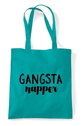 Napper Tote Shopper Bag Statement Emerald Gangsta 4qPO1nOw