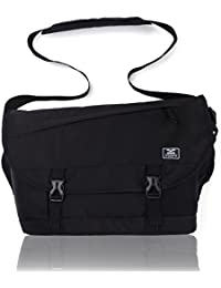"Messenger Bag 15.6"" Laptop Shoulder Crossbody Bag for Men, Multiple Pocket"
