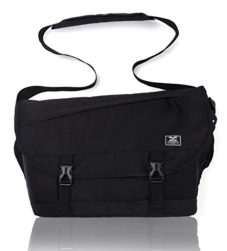 MIER Classic Messenger Bag Men Laptop Shoulder Bag for School, Travel, (Classic Laptop Messenger)