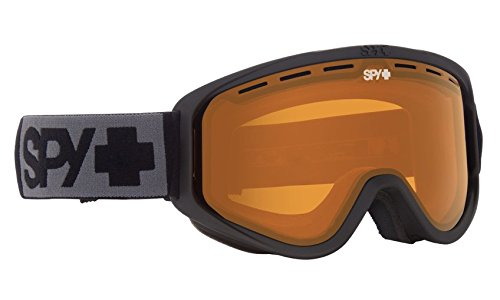 Spy Optic Woot Snow Goggle (Matte Black - Persimmon)
