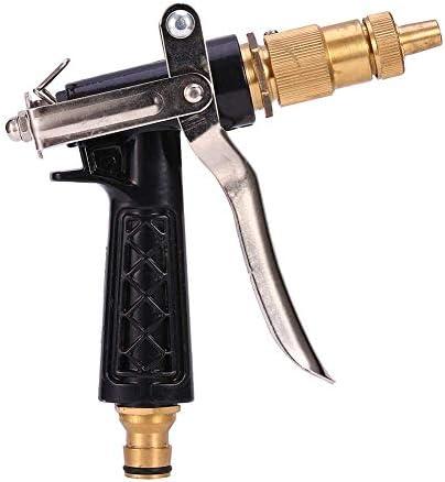 DGHJK Metal Nozzle Convenient and Practical High Pressure Garden Hose Car Wash Sprayer Copper Tube Adjustable Spray Gun