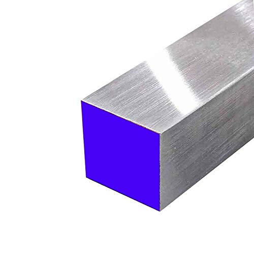 Online Metal Supply 6061 Aluminum Square Bar, 2-1/2'' x 2-1/2'' x 36'' by Online Metal Supply