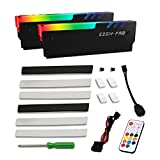 EZDIY-FAB ARGB Memory RAM Cooler DDR Heatsink with