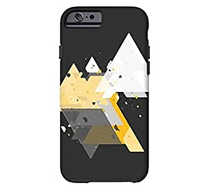 Angular One iPhone 5s Eerie black Tough Phone Case - Design By FSKcase?