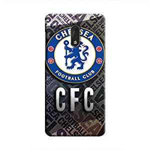 Cover It Up - Chelsea CFC Nokia 6 Hard Case