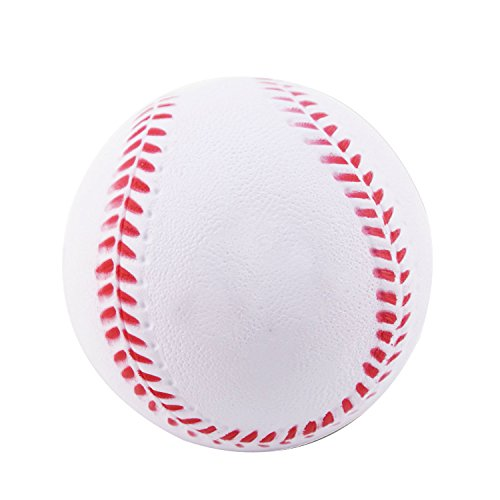 Plastic Training Softballs (B1ST Practice Baseballs Foam Softballs Training Sporting Batting Soft Ball White 9 Inch Pack of 12)