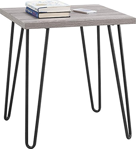 Indoor Study Computer Desk Bedroom Modern Style Table Retro end table by DASII