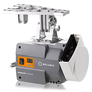 Image of Controls Reliable SewQuiet 6000SM Brushless 12 Coil DC 550W Servomotor With Digital Speed Control, Built-in Overload Protection, Clockwise & Counterclockwise Directions, Variable Speed Control, Belt Adjustment