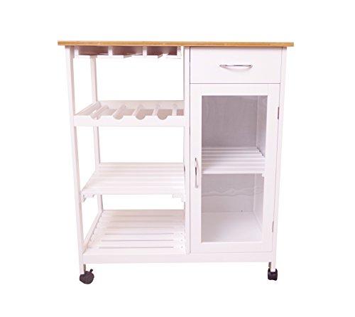 Küchenwagen Servierwagen M11014-WEI