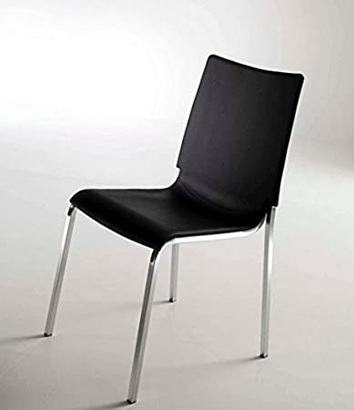 Set di 2 sedie Eva di Bontempi in polipropilene, Antracite: Amazon ...