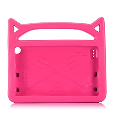 All-New Fire 7 2017 Case,Riaour Kids Shock Proof Protective Cover Case for Amazon Fire 7 Tablet (Compatible with 5th Generation 2015 / 7th Generation 2017) by Riaour fire HD 7 2015 case Children Case Amazon all new fire 7 2017 7th generation tablet case c