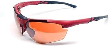 03930424f3 2018 Maxx Sunglasses TR90 Maxx 2 LT Red Black with HD Amber Lens