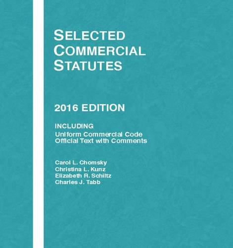 Selected Commercial Statutes (Selected Statutes)