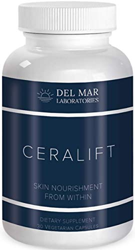 Del Mar Labs – CeraLift – 30 Day Supply – Doctor Formulated – for Reduction in Appearance of Fine Lines and Wrinkles – Anti-Aging Ceramides and Antioxidants – Vegetarian Capsules