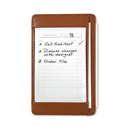 Briefcase Pocket Shirt (Levenger Shirt Pocket Briefcase & 100 To Do Cards, Saddle (AL14870 SA))