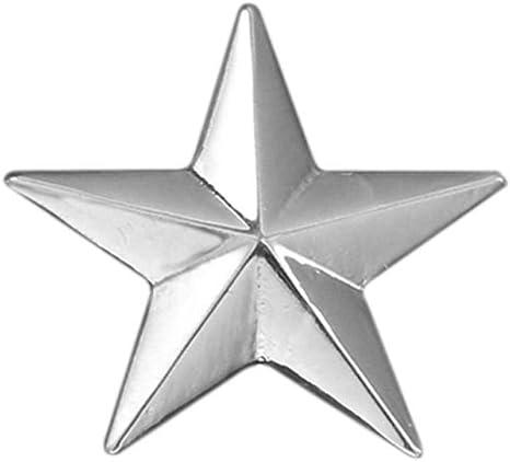 TicMick Personalidad de la Moda Coreana Camisa de Hombre Collar Tendencia de uñas Cinco Puntas Collar de aleación de Estrella Pin Broche, Trompeta de Plata 5 Piezas: Amazon.es: Hogar