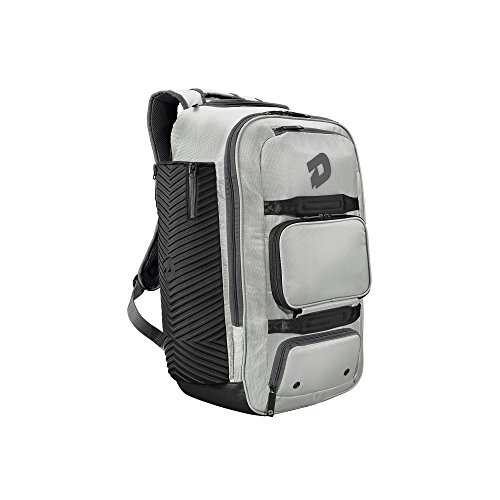 DeMarini Special Ops Spectre Backpack - Silver (Bat Baseball Bag)