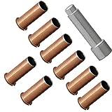 Door-Hinge-Roller-Pin-Door-Hinge-Pin-and-Bushing-Repair-Kits-8-Hinge-Liners-and-1-Silver-Door-Bushing-Removal-